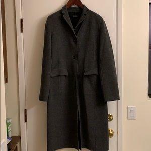 J Crew Reversable Wool coat